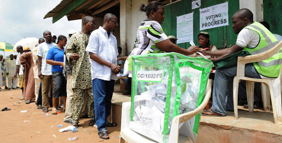 Image result for Ekiti 2018: INEC charges stakeholders on credible electoral process