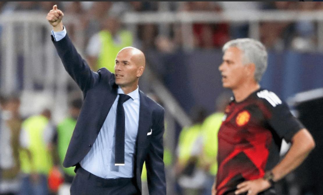 Image result for zidane mourinho