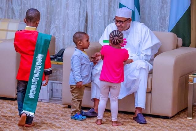 CHILDREN'S DAY SPECIAL: File Photos Of President Muhammadu Buhari ...